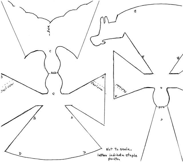 Angel Template Craft Http Www Kindergarten Lessons...
