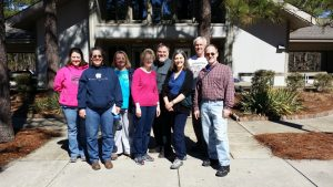 Outing Group at Kirk of Kildaire Presbyterian Church Cary NC