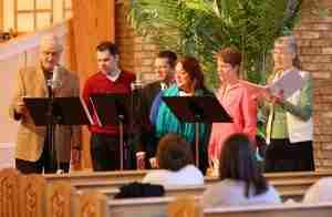 Musicians at Kirk of Kildaire Presbyterian Church Cary NC
