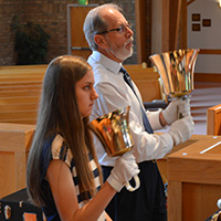 Agape Ringers at Kirk of Kildaire Presbyterian Church in Cary, NC