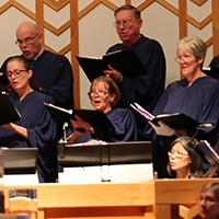 Chacel Choir at Kirk of Kildaire Presbyterian Church in Cary, NC