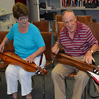 Dulcimer Group at the Kirk of Kildaire Presbyterian Church in Cary NC