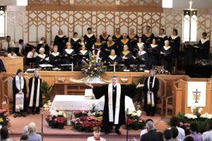 Adult Choir Easter Sunday at Kirk of Kildaire Presbyterian Church Cary NC