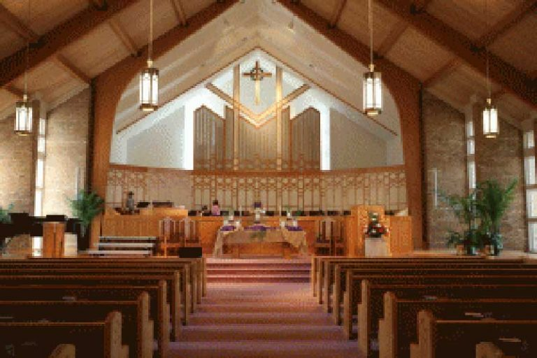 Sanctuary built by congregation giving-Kirk of Kildaire Presbyterian church