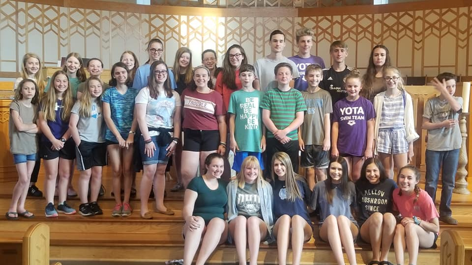 Youth Group at Kirk of Kildaire Presbyterian Church