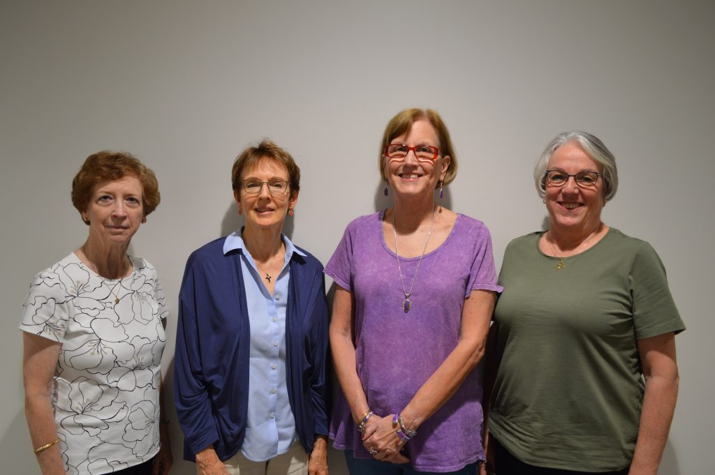 Stephen Leaders, l to r: Kathy White, Sandi Torrant, Helen Stanfield, Nancy Stokes